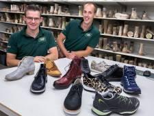 Schoenmakers van Buchrnhornen in Eindhoven werken ook met de muis