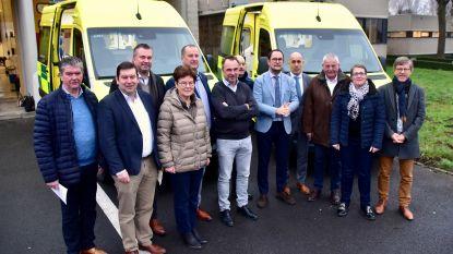 Al drie nieuwe Fluvia-ziekenwagens geleverd, nog twee te gaan
