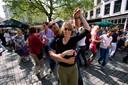 Veemarktpleintje tijdens een eerder optreden van Latinformatie Conjunto Amsterdam in Breda