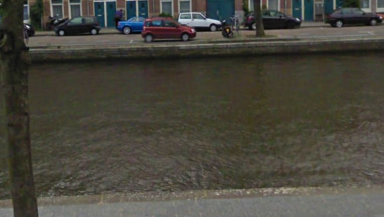 Het water van de Baarsjes. Beeld Google Streetview