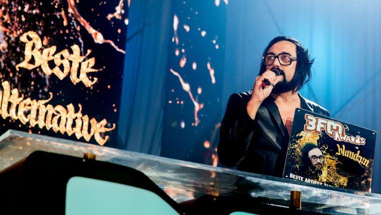 Zanger en indiepop-artiest Blaudzun brak in 2012 door met zijn album Heavy Flowers. Beeld anp