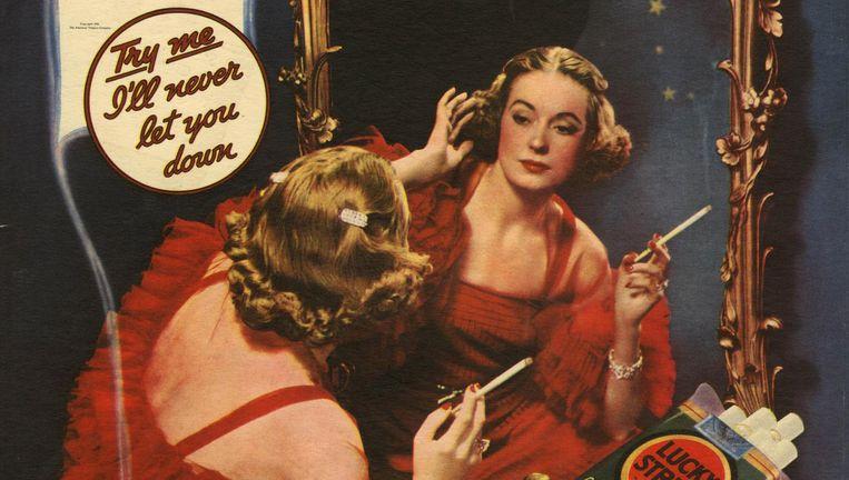 Sigaretten werden in de jaren dertig en veertig aangeprezen door glmourtypes, sporters en zelfs artsen. Beeld Hollandse Hoogte