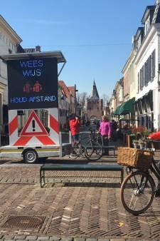 Winkelstraten in Elburg drie maanden lang verboden terrein voor de fietser
