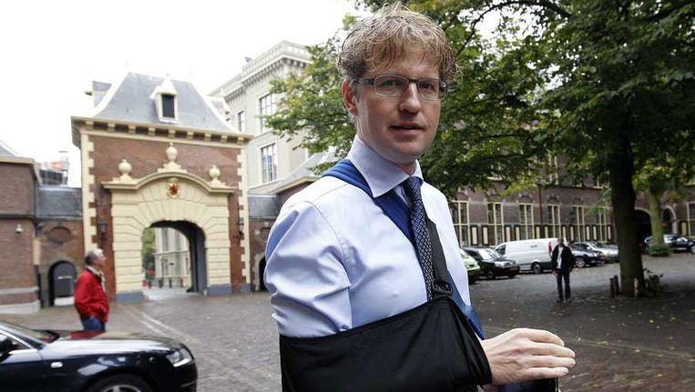 Staatssecretaris Sander Dekker van OCW. Beeld anp