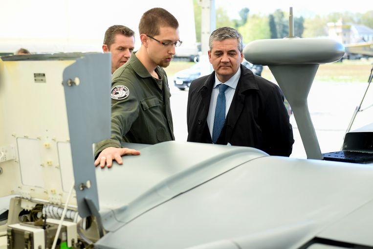 Minister van Defensie Steven Vandeput.