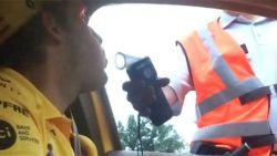 Het bizarre moment waarop Belgische politie een Formule 1-piloot aan de kant zet voor alcoholcontrole