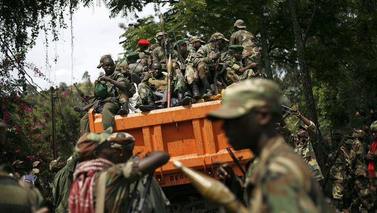 Opstandelingen in Congo. Beeld ap