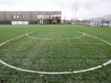 'Tweedehands' korfbalveld op Sportpark de Mors in Delden is hip, hoogwaardig en duurzaam