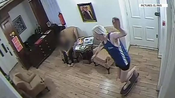 Assange in de Ecuadoraanse ambassade