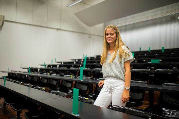 Marion Ceysens (18) startte deze week aan haar studie Rechten aan de UAntwerpen.