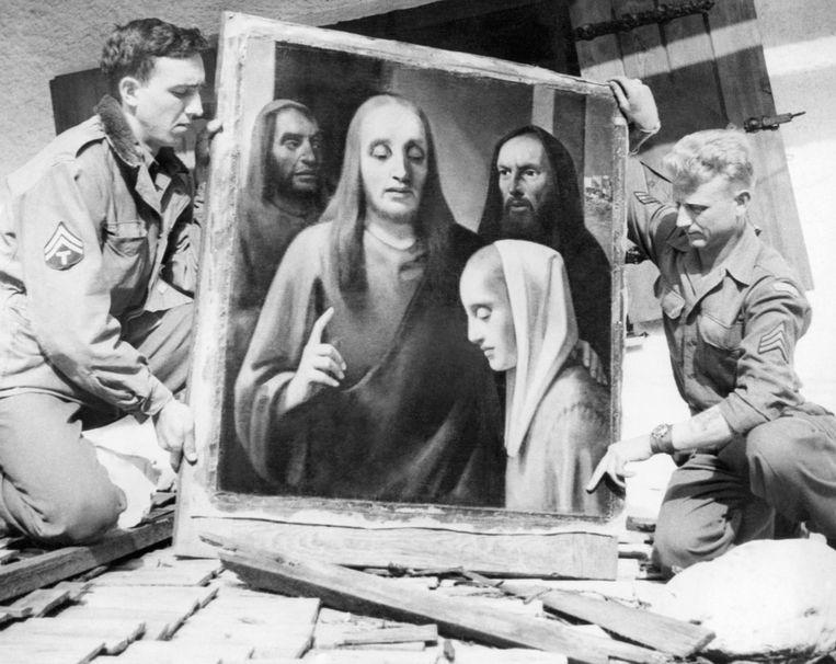 Amerikanen tonen de 'Vermeer' van Han van Meegeren Beeld ap