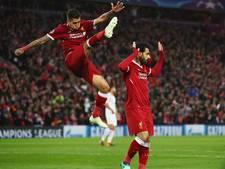 Briljante Salah loodst Liverpool in spektakelstuk langs AS Roma