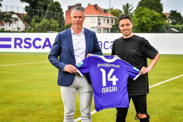 Michaël Verschueren et Samir Nasri