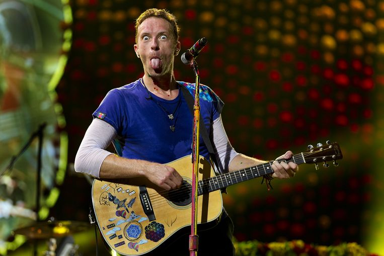 Coldplay in de Amsterdam Arena. Beeld null
