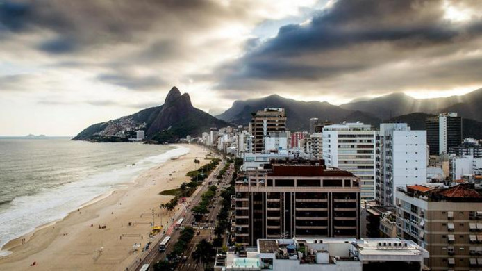 Hotels langs de Braziliaanse kust