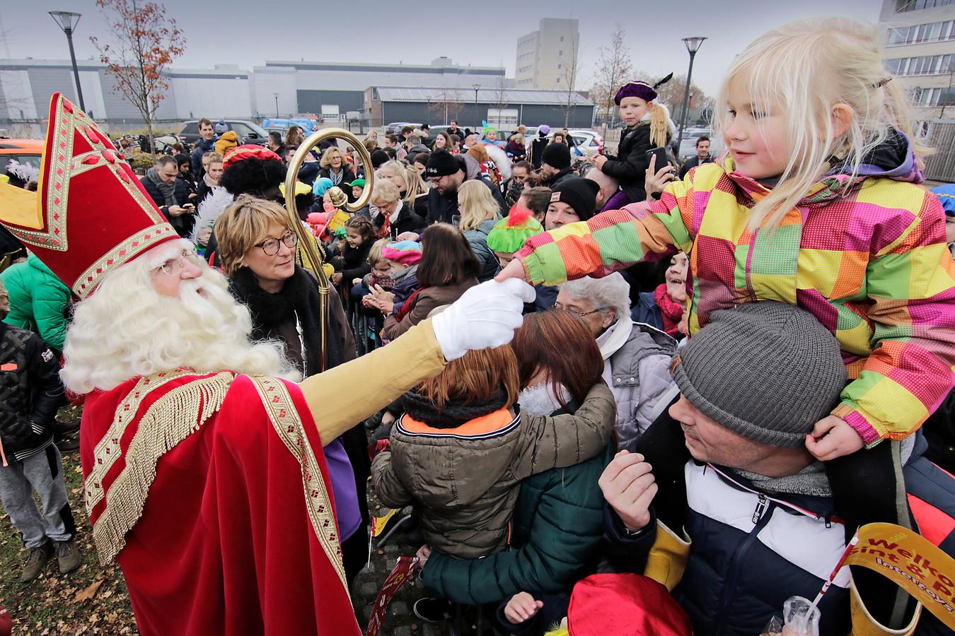 De aankomst van Sinterklaas in de Osse haven, twee jaar geleden.