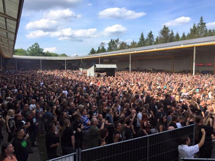 Veel bezoekers op Dynamo Metal Fest in Eindhoven