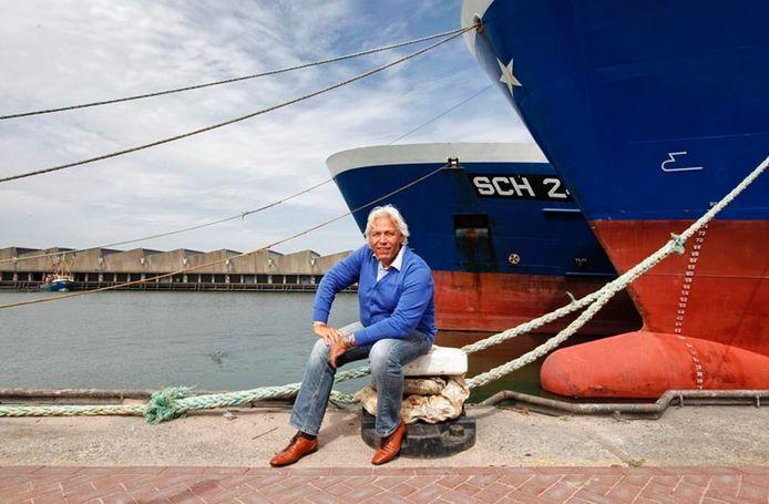 Cok van Look voor de schepen die hij bevoorraadde