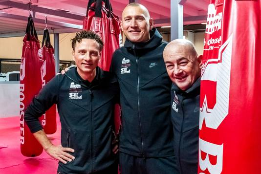 Willem, Daan en Danny, de eigenaren van The Colosseum Gym in Utrecht Overvecht.