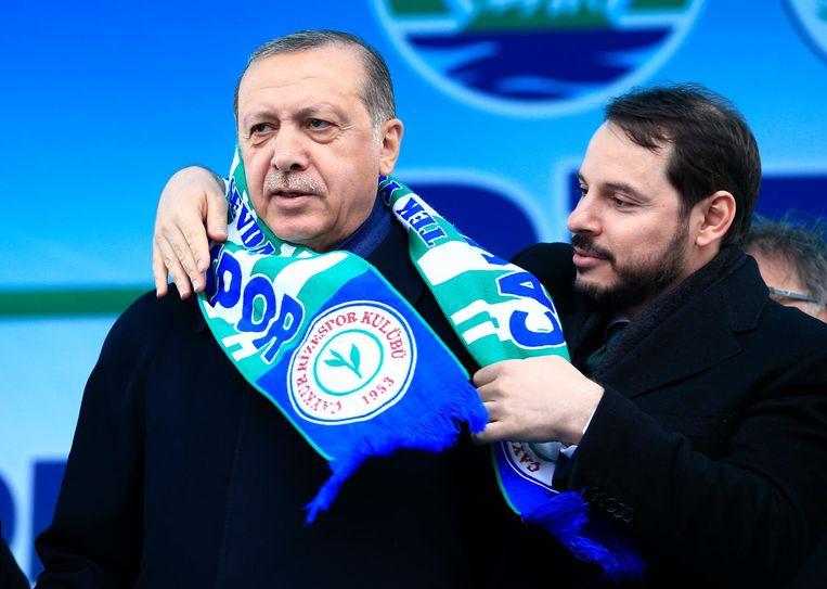 De Turkse president Erdogan Beeld ap
