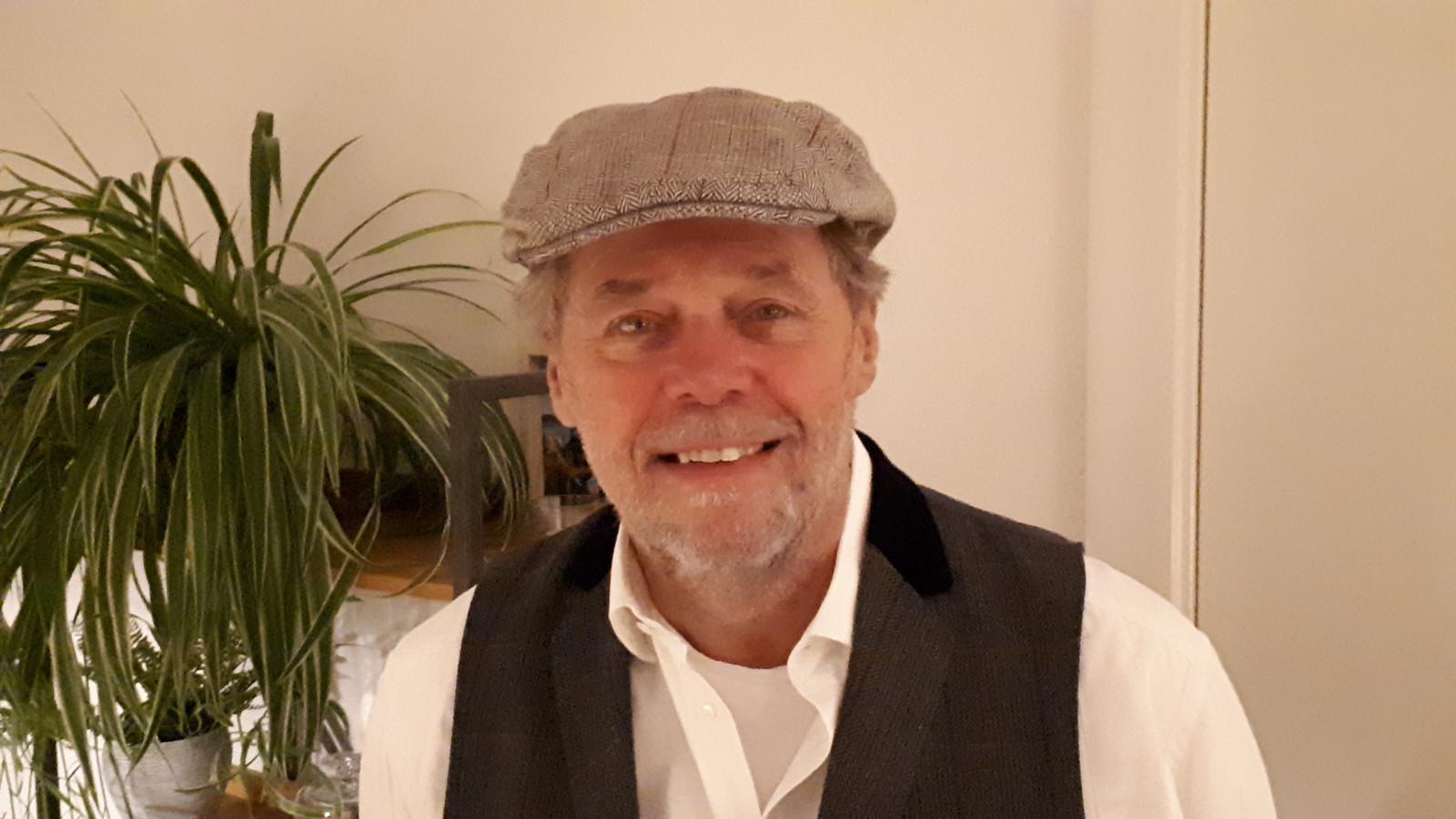 Voorzitter Jan Hekman van het nieuwe comité 75 jaar Vrijheid Nijverdal.