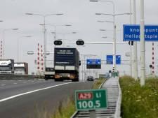 Ongeluk op A29: snelweg weer vrij richting Bergen op Zoom