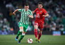 Giovani Lo Celso in actie voor Real Betis.