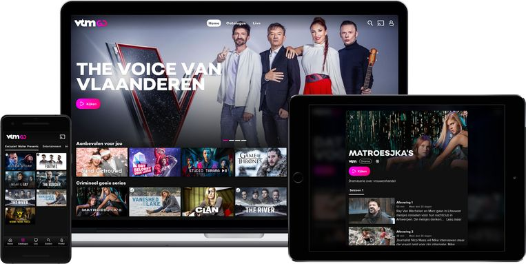 Hier is het dan: VTM Go, de Vlaamse versie van Netflix?