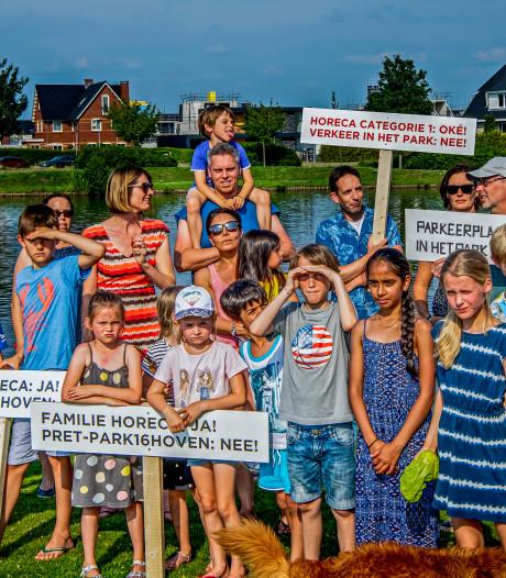 Bewoners Park 16Hoven naar Raad van State: 'Wij willen geen partycentrum'