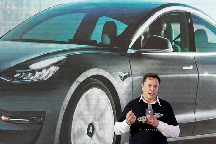 CEO van Tesla, Elon Musk.