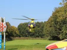 Traumahelikopter ingezet voor reanimatie bij het Oostrandpark in Lelystad