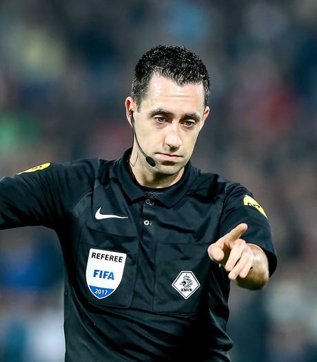 Higler fluit PSV - FC Twente, Van den Kerkhof arbiter bij Heracles