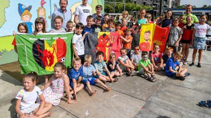 Mooiste WK-vlaggen bij VLEK-school