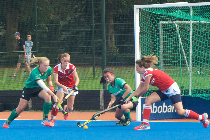 De hockeysters van Upward. Archieffoto