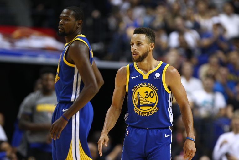 Kevin Durant en Stephen Curry.