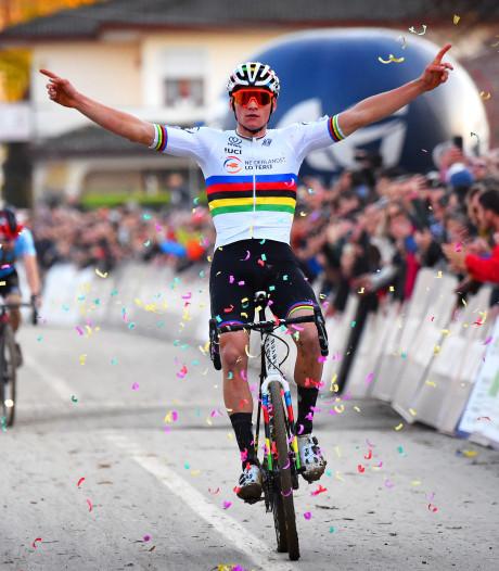 Topfavoriet Van der Poel pakt derde Europese titel op rij