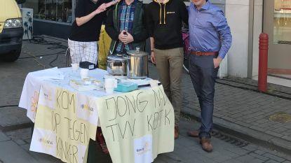 Jongeren steunen Kom op tegen Kanker