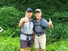Opa's aan de wandel voor stichting Gijsje Eigenwijsje