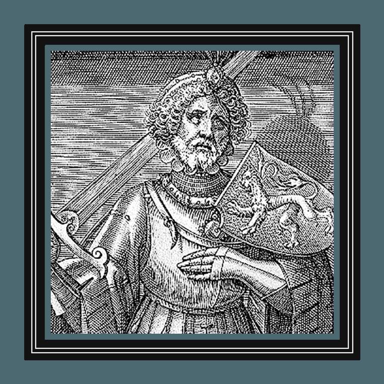 Floris V (1254-1296) was de beroemdste middeleeuwse graaf van Holland. Onder zijn bewind kwam de Ridderzaal op het Binnenhof gereed en werd het Muiderslot gebouwd. Beeld