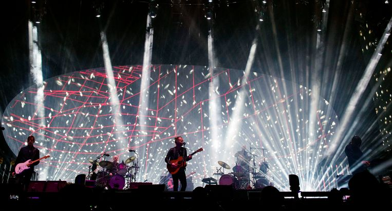 Radiohead treed op tijdens Coachella.