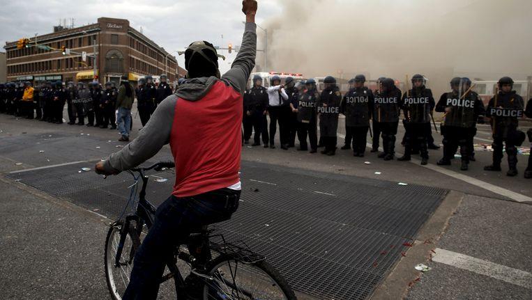 Baltimore werd eind april dagenlang geteisterd door hevige rellen.