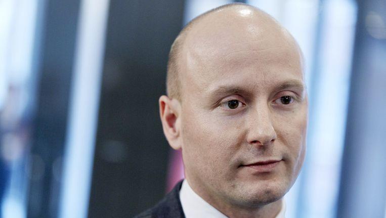 VVD-Tweede Kamerlid Mark Verheijen in de Tweede Kamer. Beeld anp