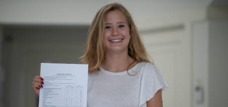 Lotte (18) slaagt summa cum laude: niet met één, twee of drie tienen, maar met zes!