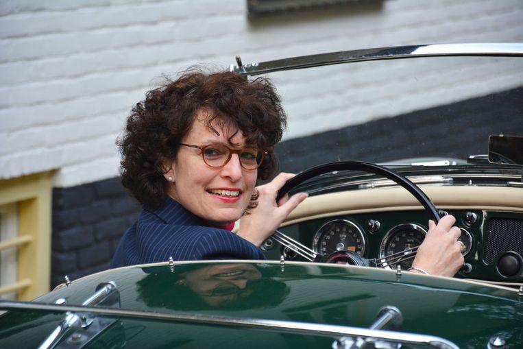 Vivian Vleeshouwers in haar MGA. Beeld