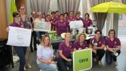 KVLV ontvangt cheque van 1.500 euro van Cera