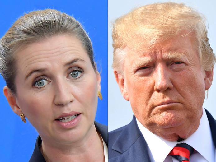 Mette Frederiksen et Donald Trump