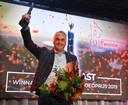 Directeur Jacob Kolk van bouwer Nieuwenhuis Bouw uit Rijssen nam de prijs in ontvangst.