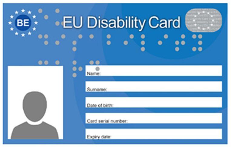 De European Disability Card zal ook geldig zijn in Maarkedal.