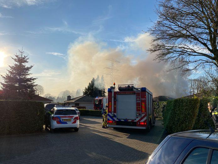 Woningbrand in bungalow Ermelo
