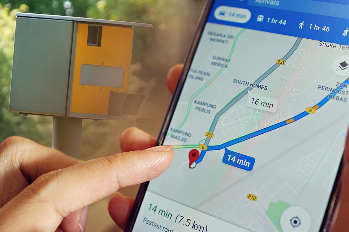 Je ziet nu op Google Maps ook waar je een camera kunt verwachten.